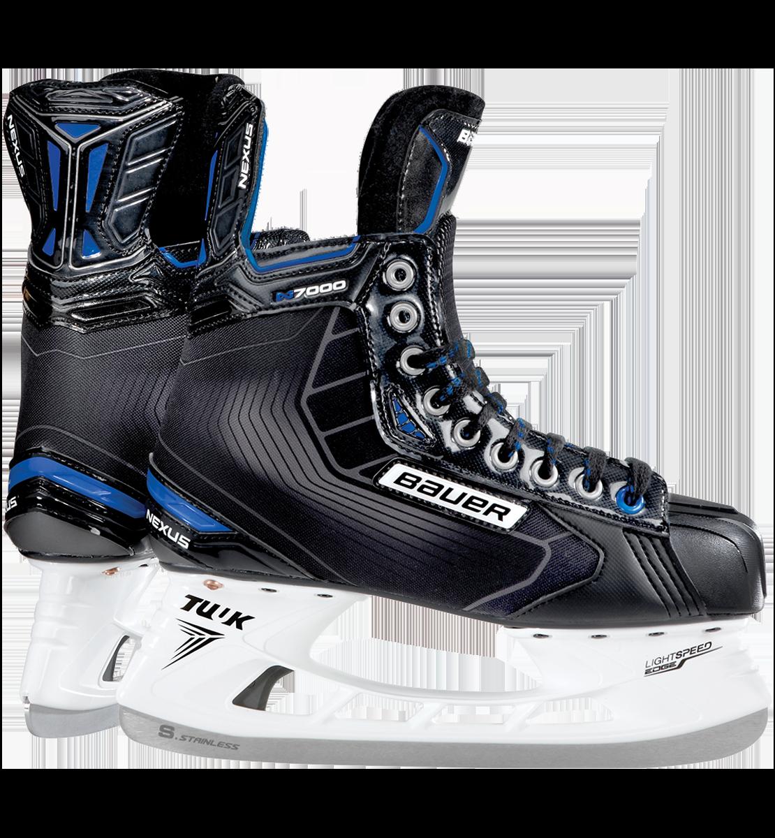 Bauer N7000 Skate - Hockey Skates PNG