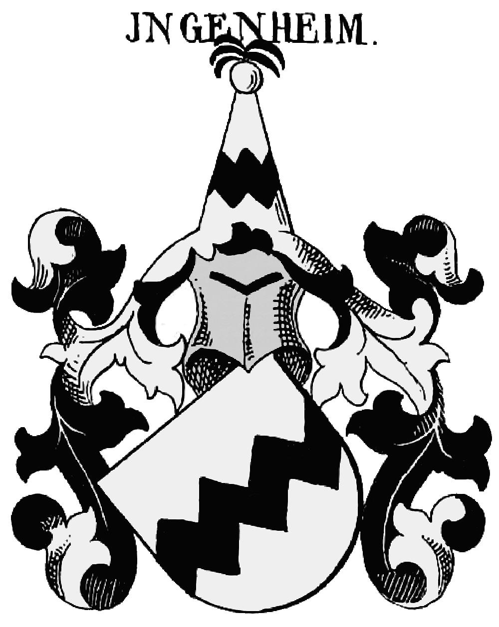 Ingenheim (Adelsgeschlecht) - Hofdame Mittelalter PNG