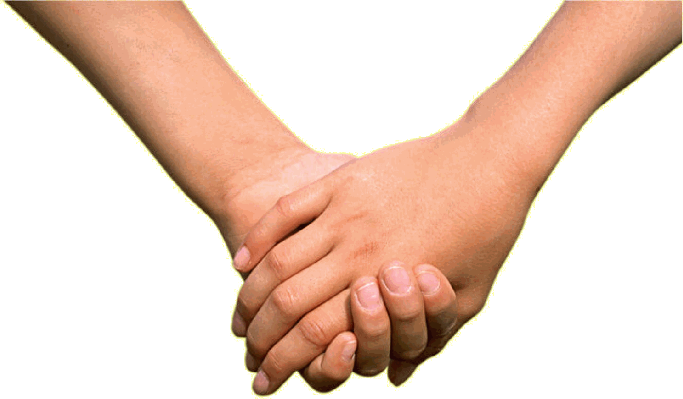 Holding Hands PNG HD