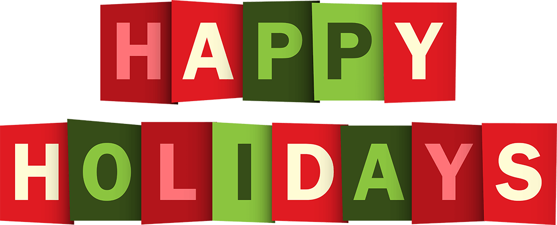 Happy Holidays Text Png image #34703 - Holidays PNG