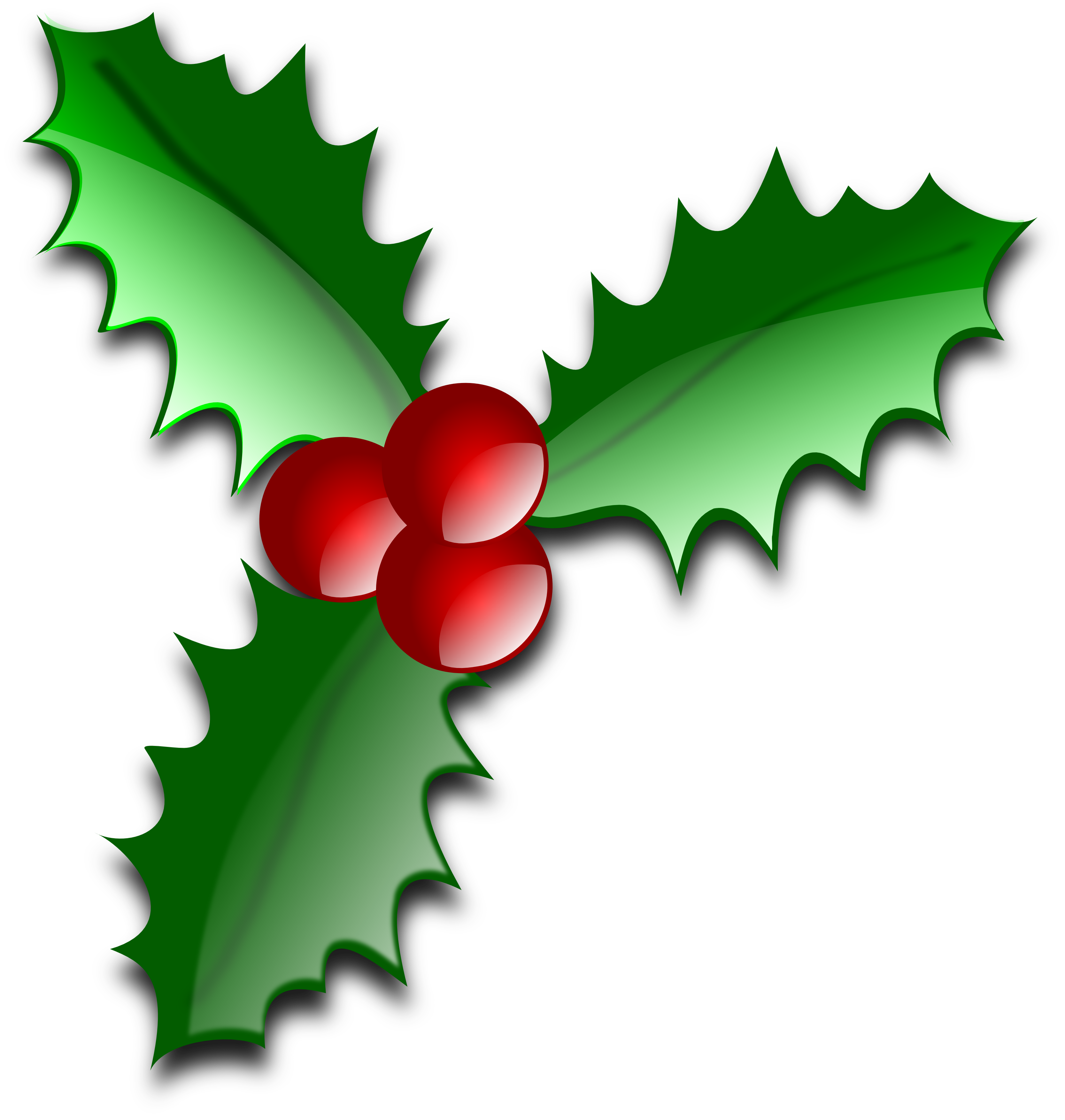 Christmas Holly Clip Art Borders | Clipart library - Free Clipart Images - Holly And Ivy PNG