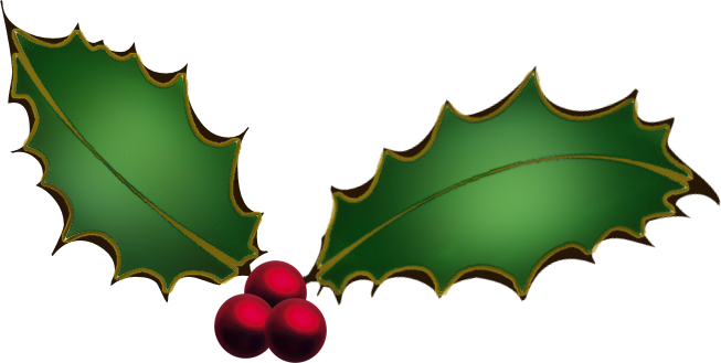 Christmas Ivy Clipart - Holly And Ivy PNG