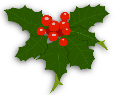 Impassioned PlusPng.com  - Holly And Ivy PNG