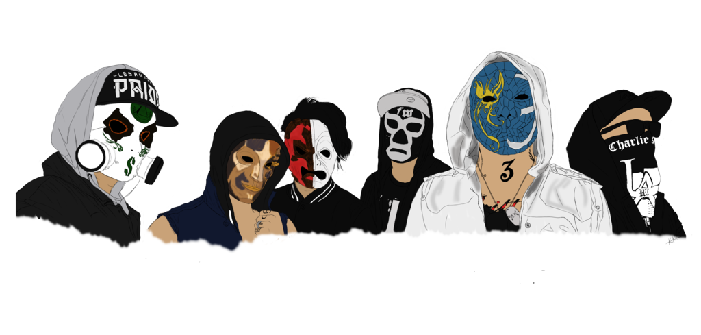 Hollywood Undead PNG - 13224