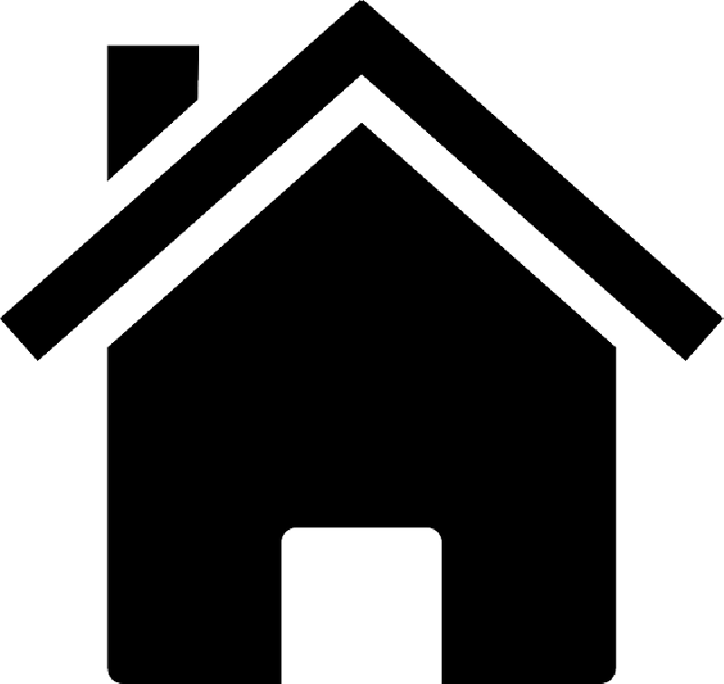 HOME, HOUSE, SILHOUETTE, ICON, BUILDING Public Domain Pictures image #193 - Home PNG