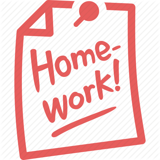 education, homework, learning, paper, pin, school, study icon - Homework Due PNG