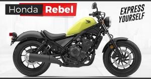Honda Rebel 250 and Rebel 500 Launched in Japan news - Honda Rebel PNG