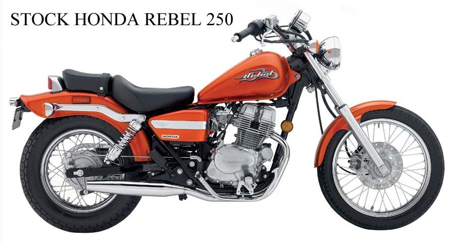 Stock-Honda-Rebel - Honda Rebel PNG