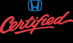 Honda Certified Used Car Logo Vector - Hondas Certified PNG