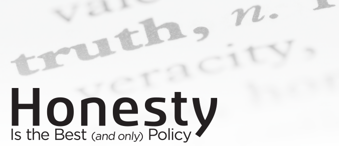 Honesty is the best (and only) policy - Honesty Is The Best Policy Banner PNG