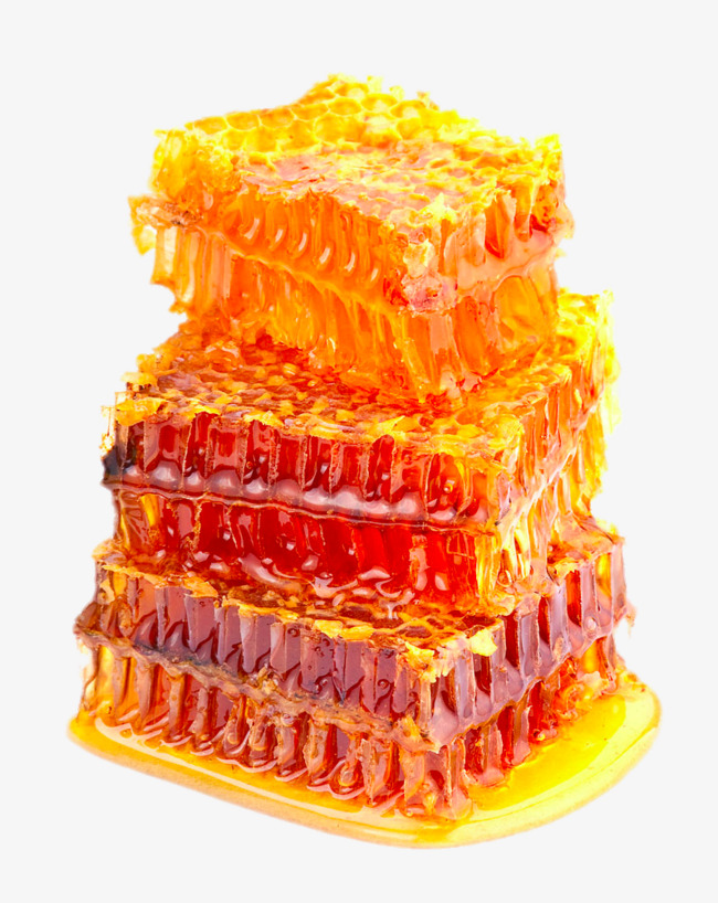 HD honeycomb close-up, Honey, Delicious Free PNG Image - Honey HD PNG