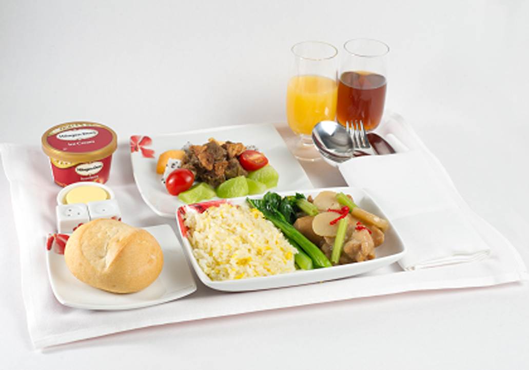 Drink: Kumquat with Green Tea and Honey - Hong Kong Airlines PNG