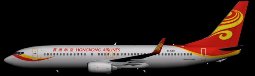 Hong Kong Airlines 737-800 - Hong Kong Airlines PNG