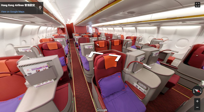 hong-kong-airlines-business-class - Hong Kong Airlines PNG