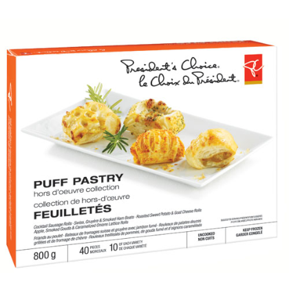 PC Puff Pastry Hors Du0027oeuvre Collection - Hor Dourves PNG