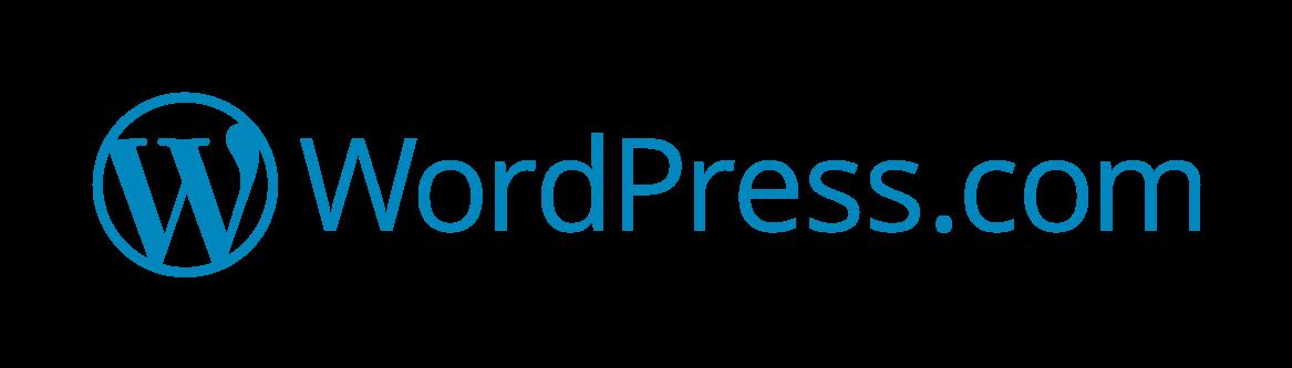 Horizontal Color Logo - Wordpress Logo PNG