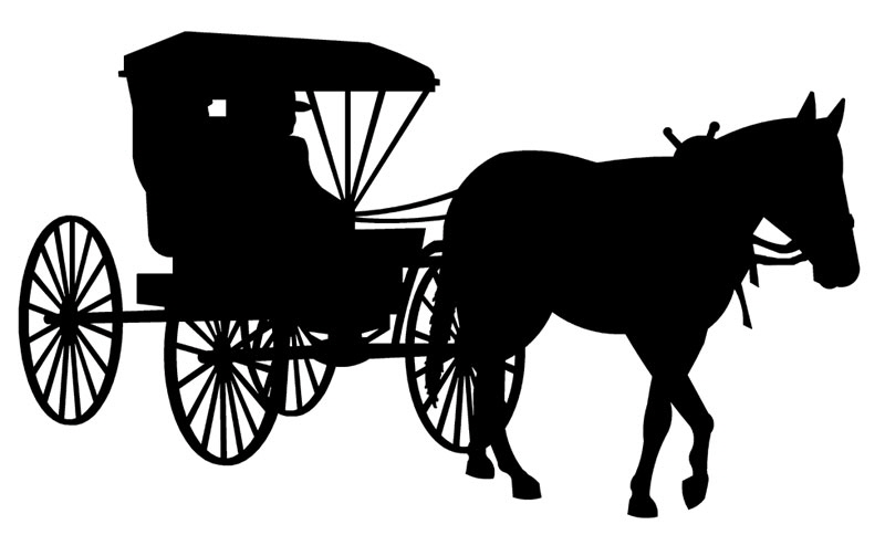Carriage clipart horse and buggy #2 - Horse And Buggy PNG