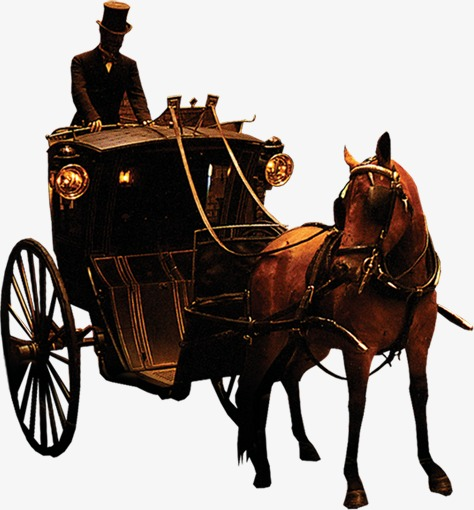 carriage, Horse Riding, Ancient Horse-drawn Vehicles Free PNG Image - Horse And Buggy PNG