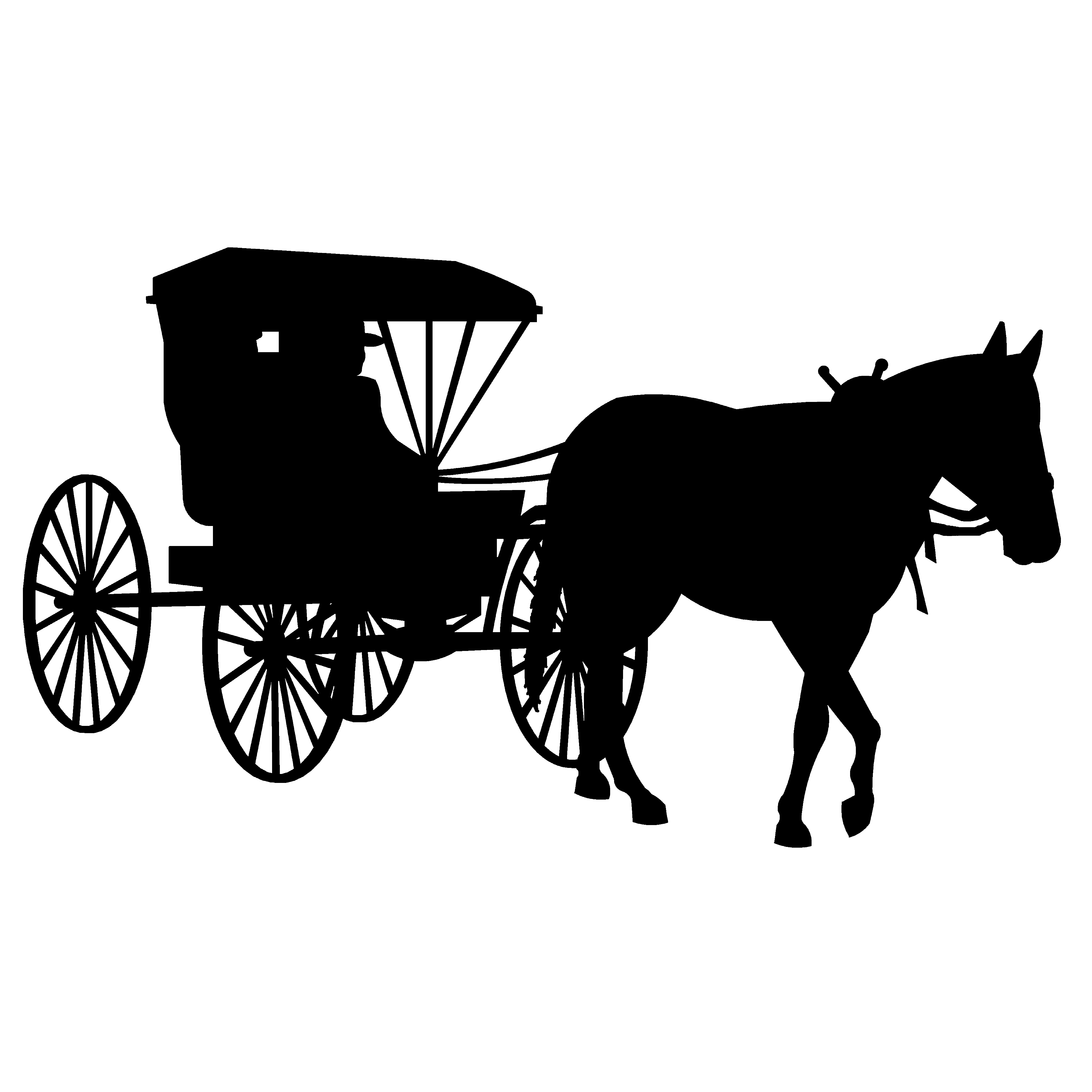 Horse And Buggy Clipart Horse And Buggy Images Clipart - Horse And Buggy PNG