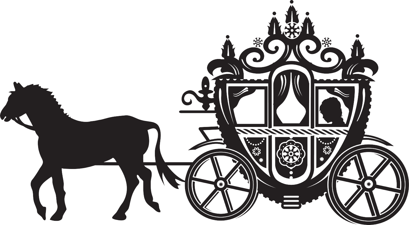 Horse and Carriage - Horse And Buggy PNG