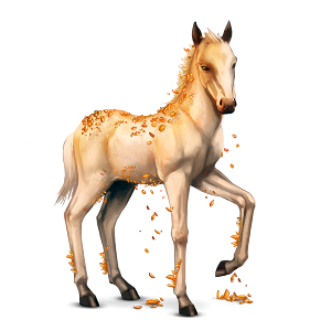 File:Topaz Foal.png - Horse And Foal PNG
