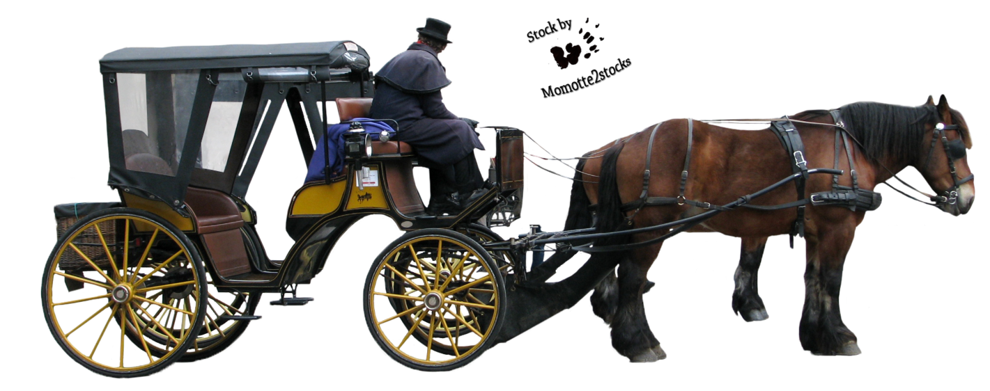 Horse Carriage PNG HD - 127076