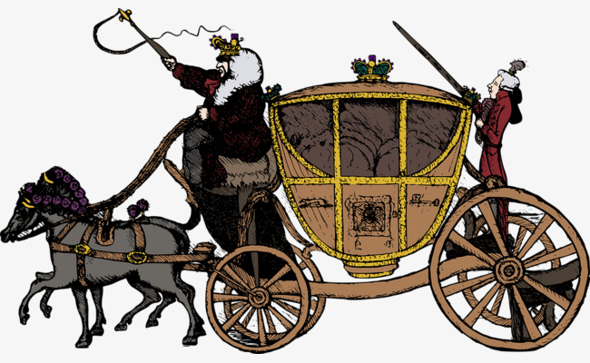 Horse Carriage PNG HD - 127074