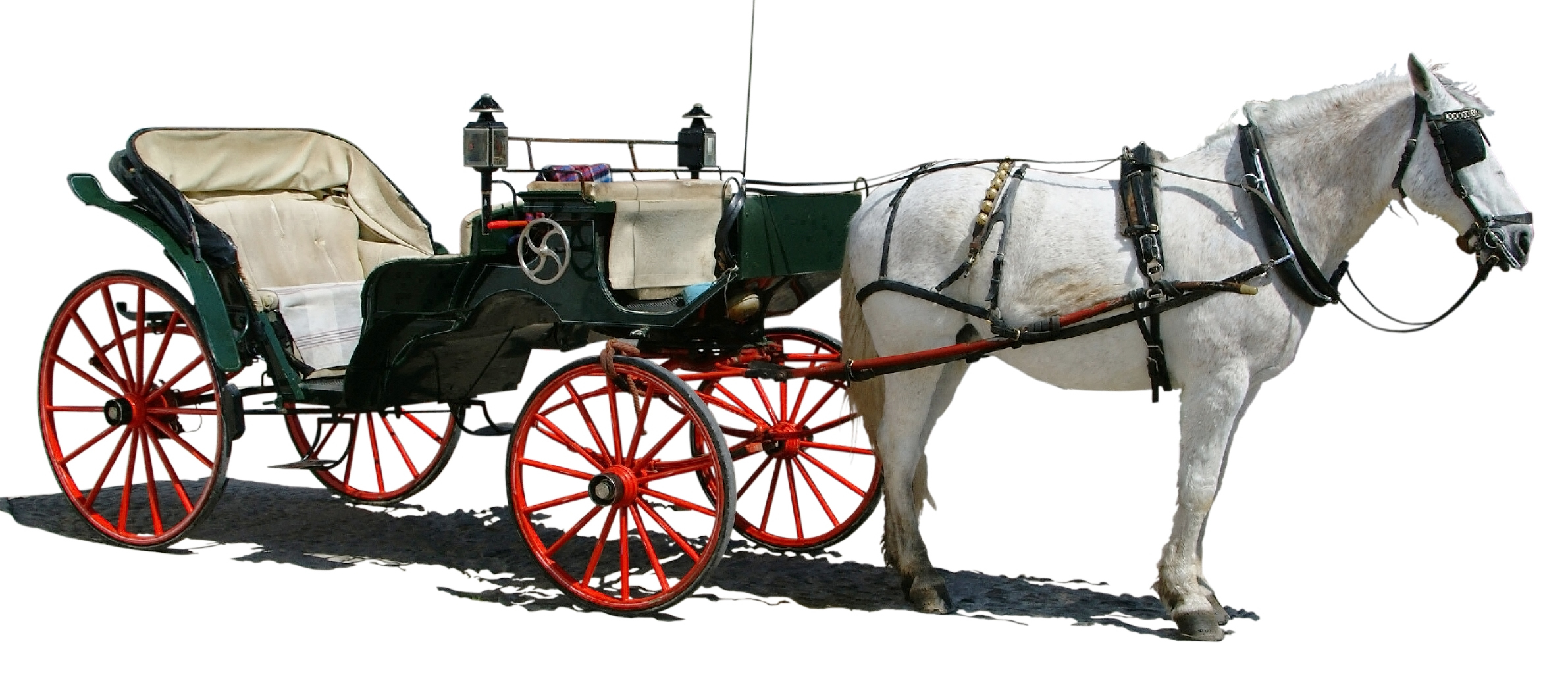 Horse Carriage PNG HD