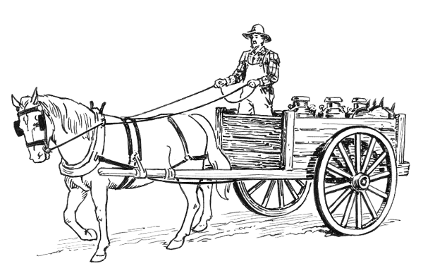 Horse Carriage PNG HD - 127078