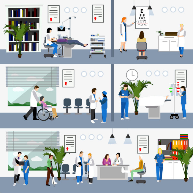 Hospital PNG HD Images - 122975