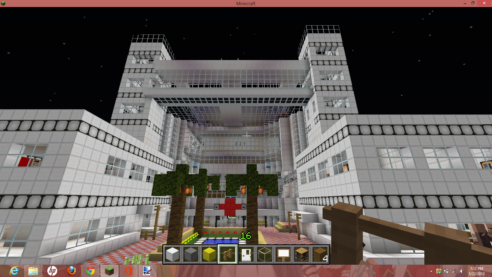 Minecraft Hospital.png - Hospital PNG HD Images