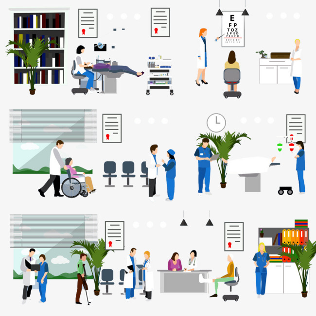 Hospital PNG HD Images - 122985