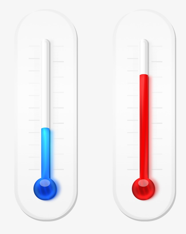 Hot And Cold Thermometer, Thermometer, Cold, Heat PNG And PSD - Hot And Cold PNG