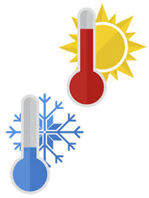 . PlusPng.com Hot Or Cold Weather PlusPng.com  - Hot And Cold PNG