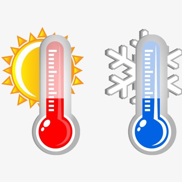 Vector Thermometer, Hd, Vector, Hot And Cold PNG And Vector - Hot And Cold PNG
