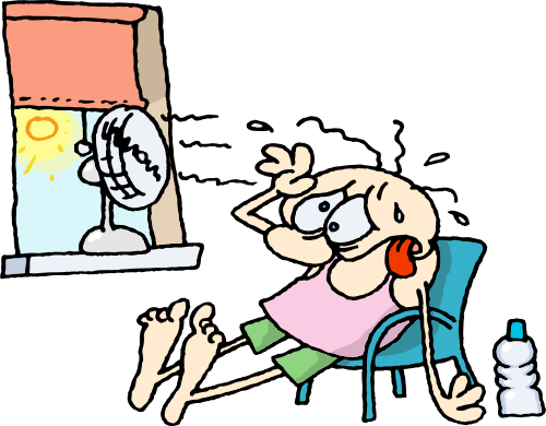 Air-conditioning on a hot humid day - Hot And Humid PNG