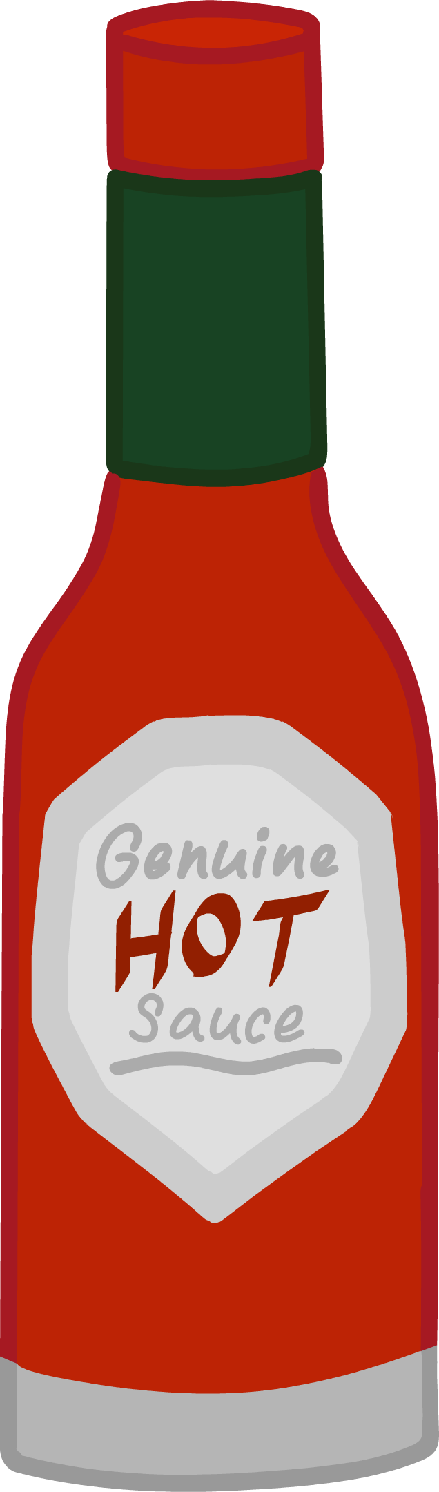 Hot sauce.png - Hot Sauce Bottle PNG