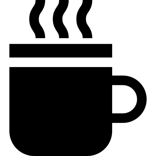 PNG SVG PlusPng.com  - Hot Tea PNG Black And White
