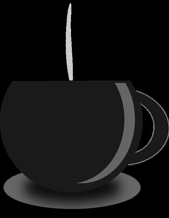 tea coffee cup hot menu restaurant mug beverage - Hot Tea PNG Black And White