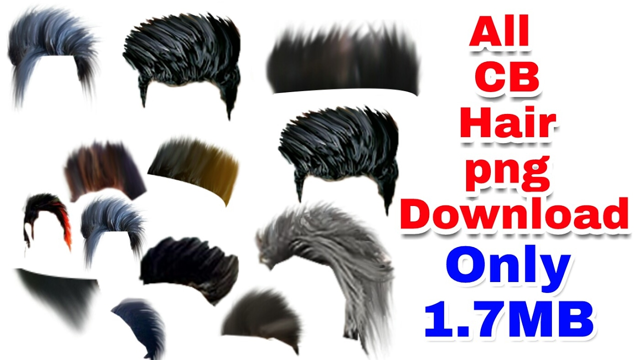 How To CB Edits All Hair PNG Download || Hair Png Download Easy Steps - Hair PNG