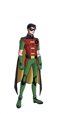 How to Draw Robin from Batman - Superhero Robin PNG
