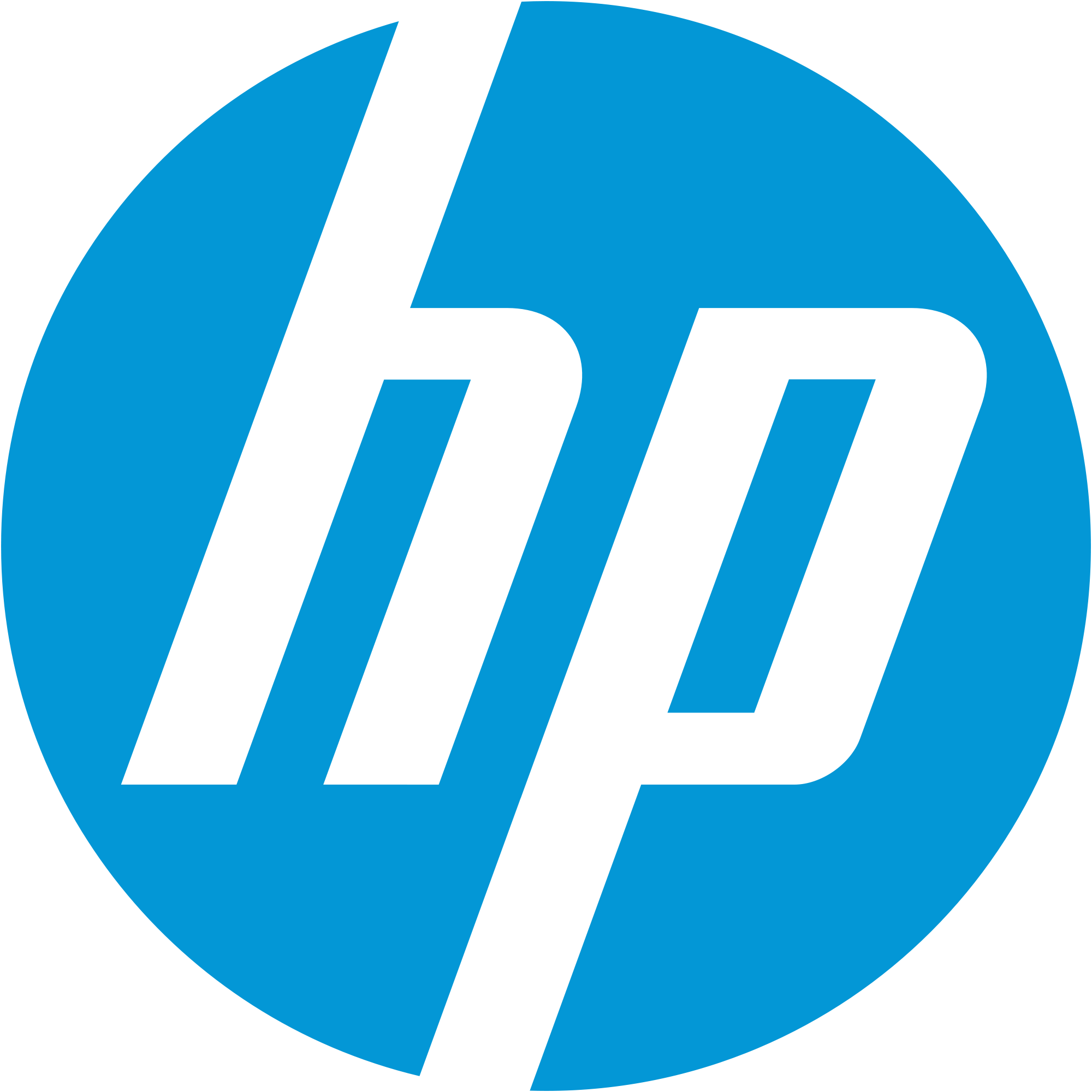 . PlusPng.com Hp logo transparent background The result is that our clients benefit  from strong, coordinated solutions with partners we know PlusPng.com  - Hp PNG