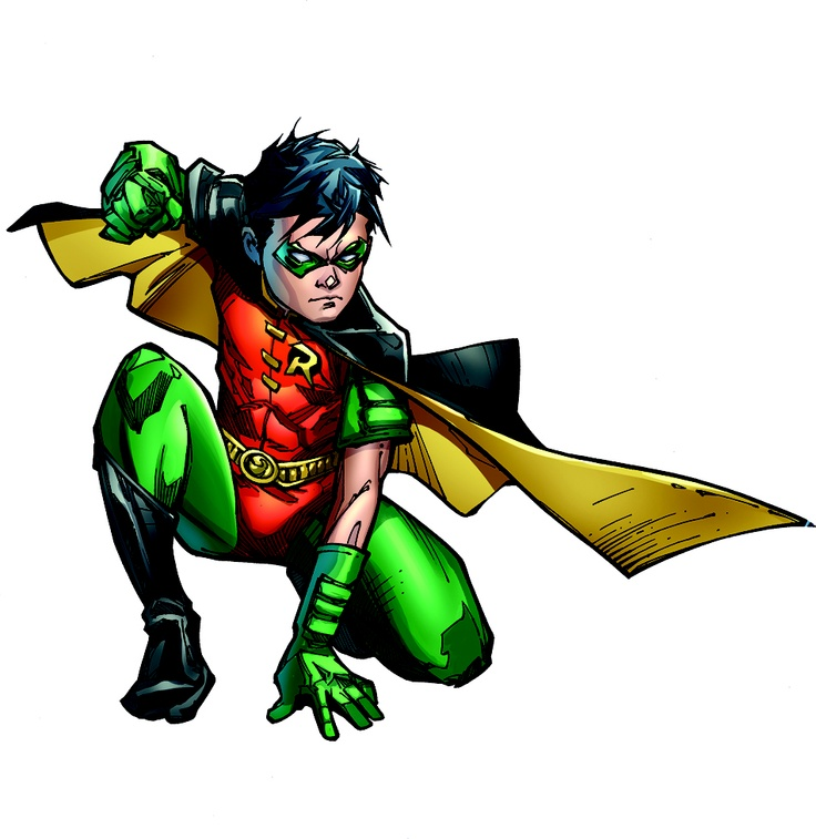 Superhero Robin PNG - 4164