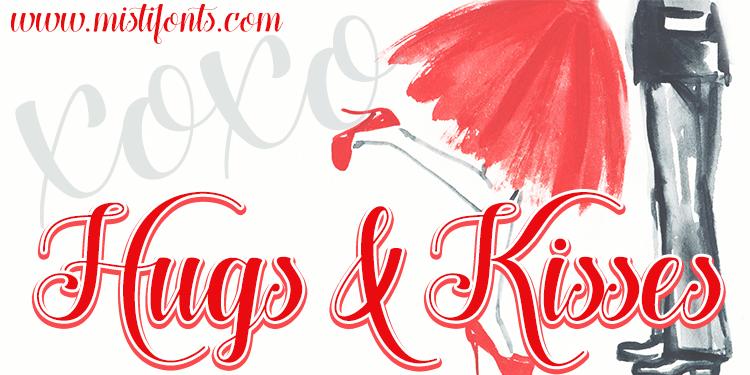 Hug And Kiss PNG - 69326