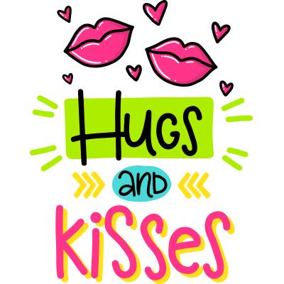 Hug And Kiss PNG - 69329