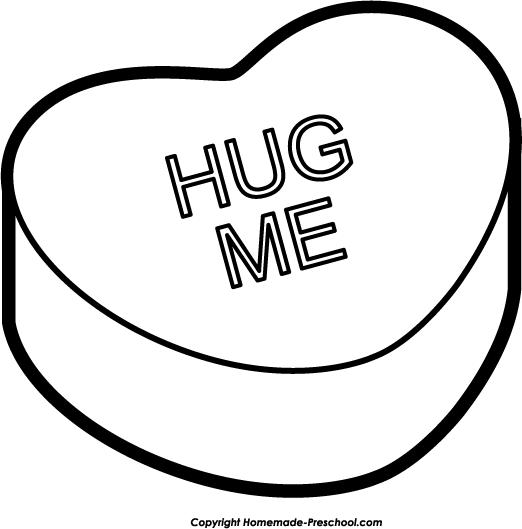 Hug PNG Black And White - 69426