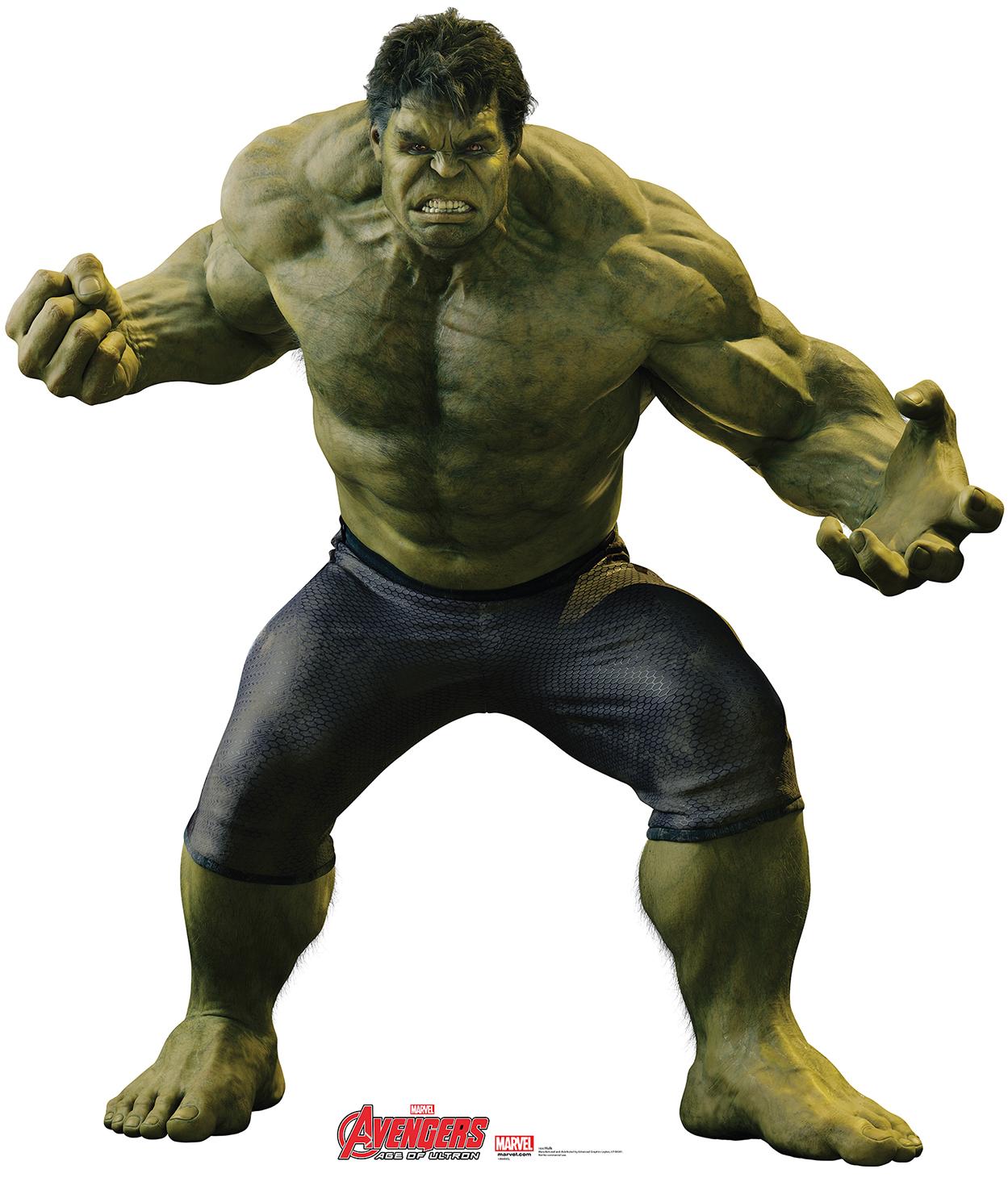 Hulk-001-AvengersAOU.png - Hulk HD PNG
