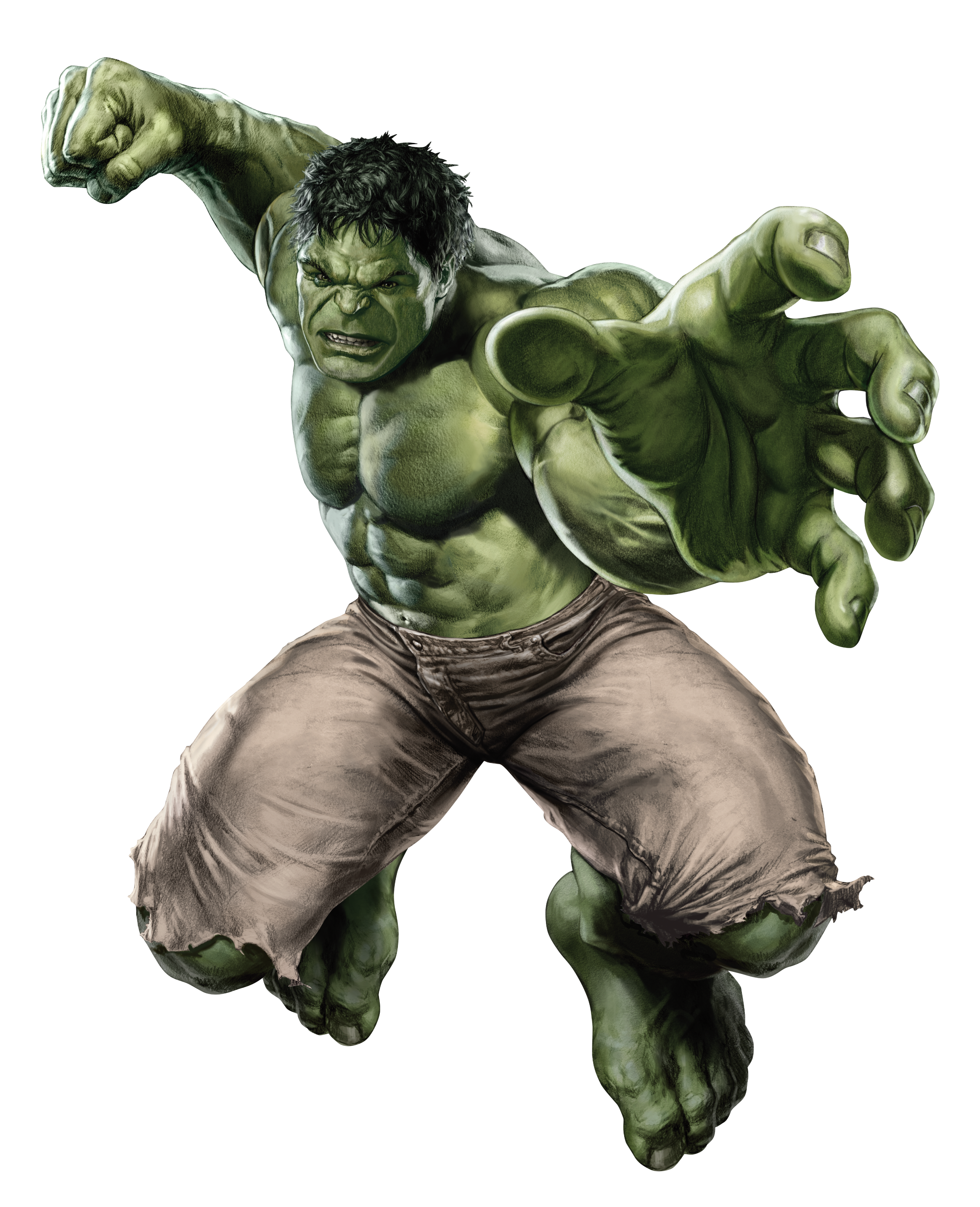 Powerful Hulk Wallpaper - Hulk HD PNG