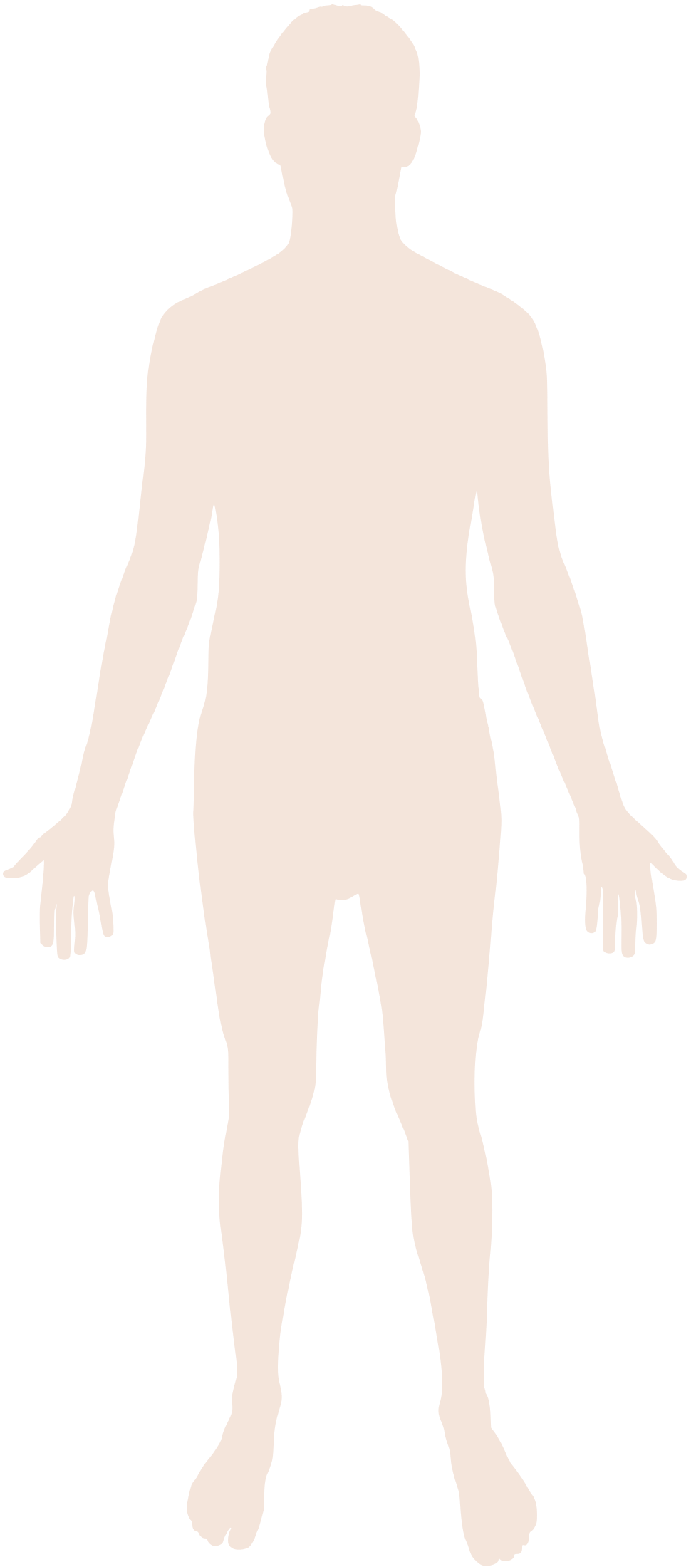 File:Human body silhouette.svg - Human Figure PNG HD