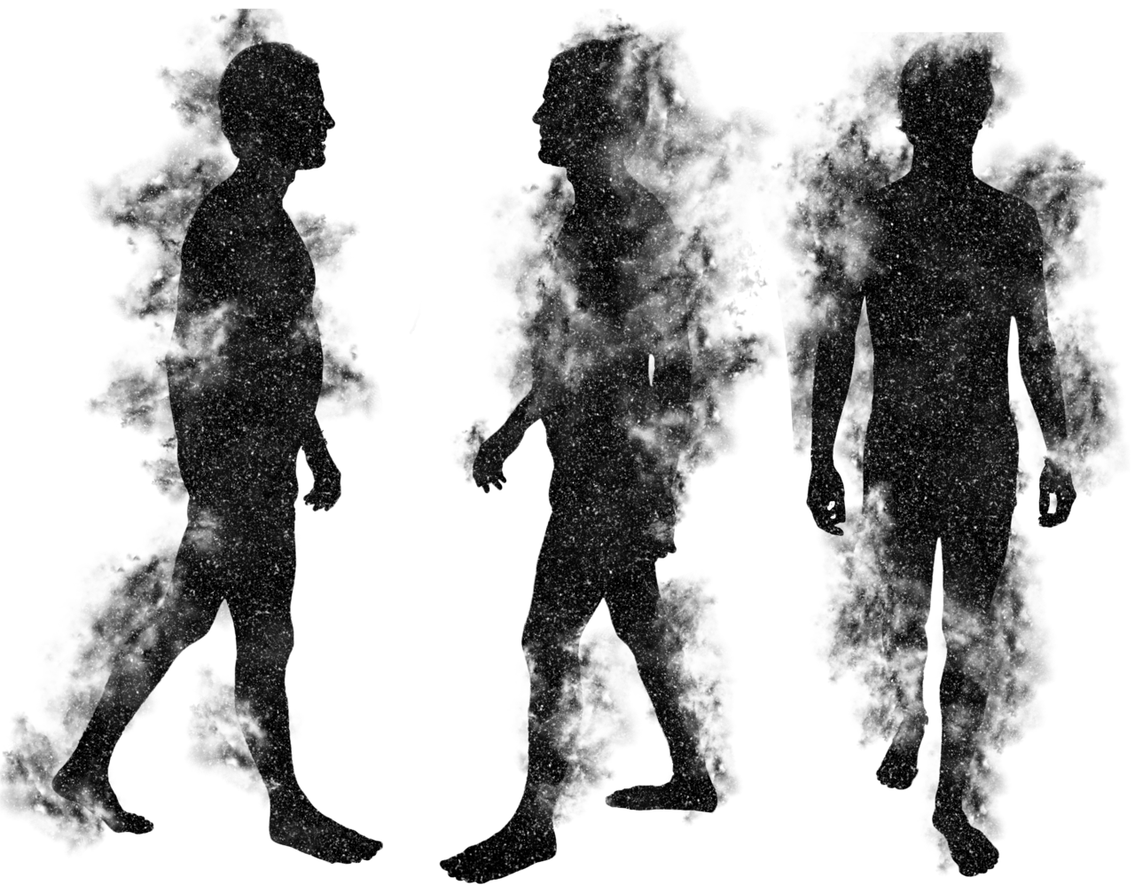 Ghost Free PNG Image - Human Figure PNG HD